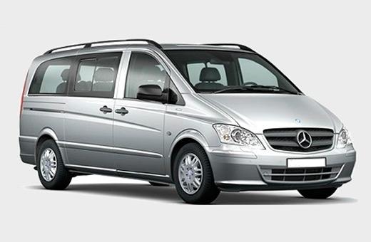 Minivan standard rental