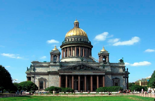 St. Petersburg City Tour + St. Isaac's Cathedral