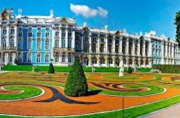 Pushkin: Catherine Palace and Park