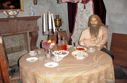 Yusupov Palace with Rasputin's murder exposition