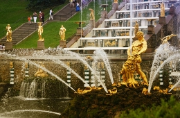 Peterhof: Grand Palace and Park with Fountains