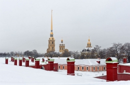 City Tour + Peter and Paul Fortress